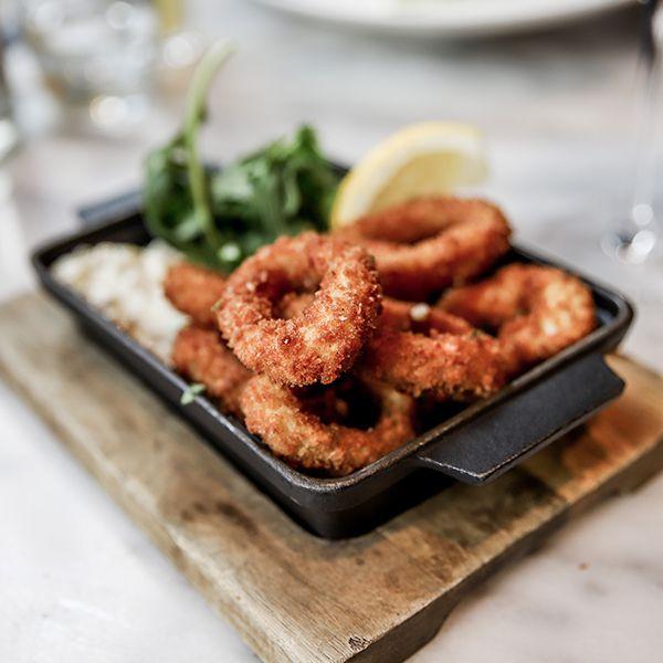 Melange Restaurant Calamari