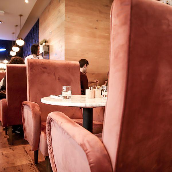 Melange Restaurant Interior