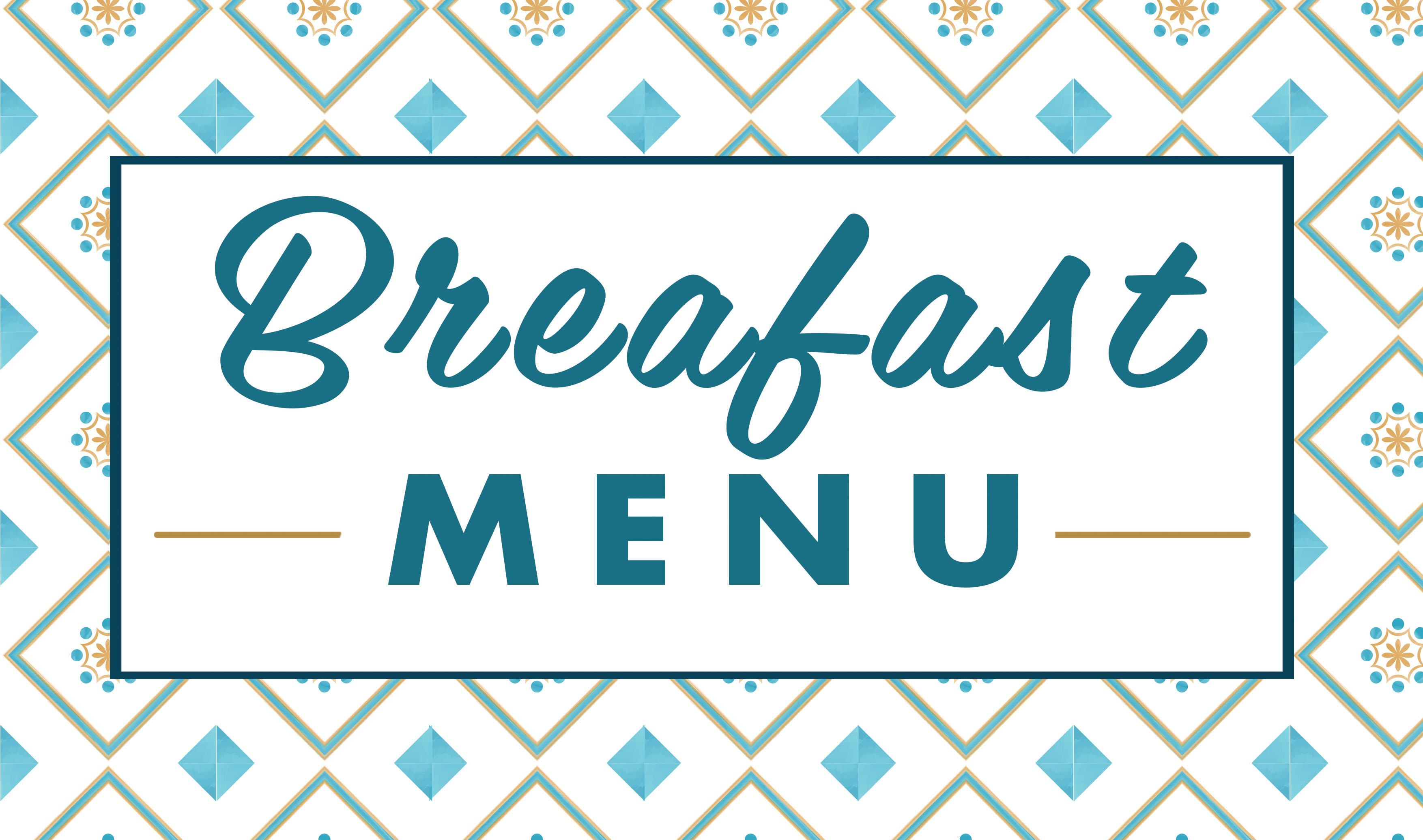 MELANGE breakfast