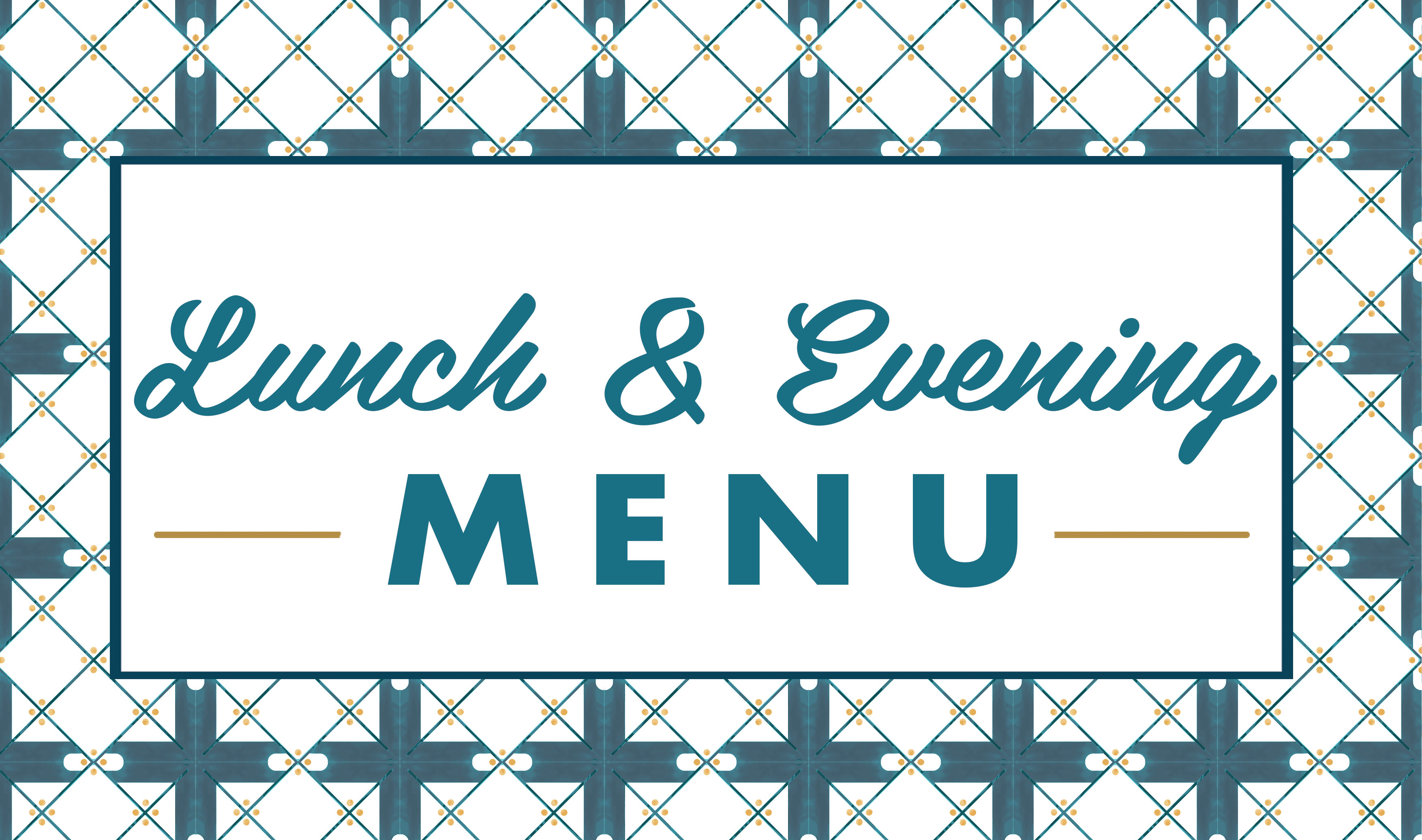MELANGE lunch and evening